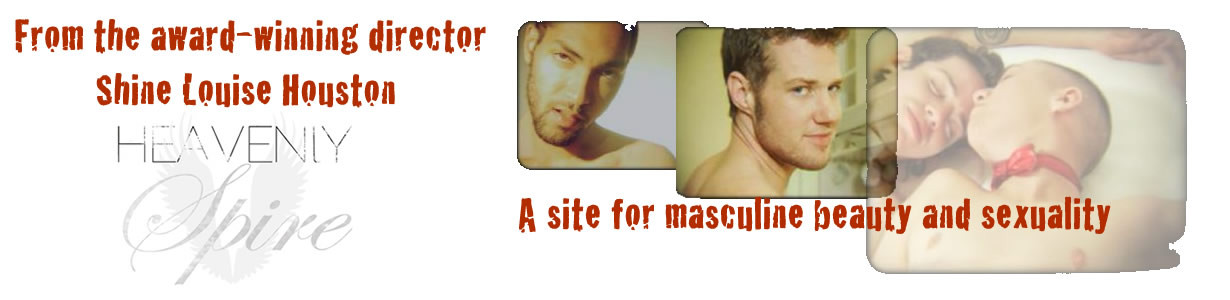 Heavenly Spire Promo - masculine beauty